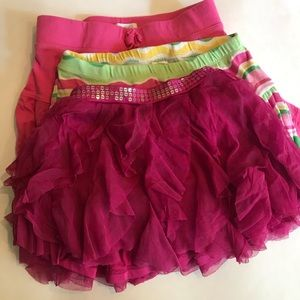 Other - 3 Girls Skirts 5/6